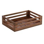 Box Mercato 43x30x12 Ořech,stohovatelný