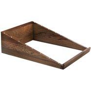Stojan dřevo SOLID 72,5x51x5 / 22 cm
