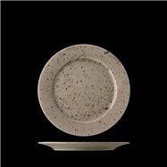 LIFESTYLE  mělký talíř 17cm Natural