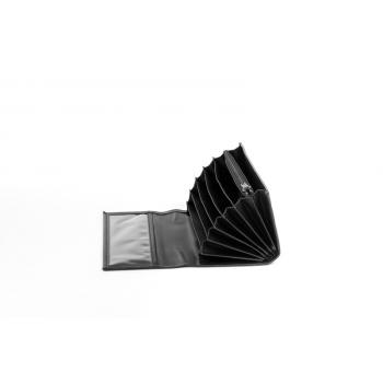 Peněženka číšnická 1 zip koženka 10x19x3