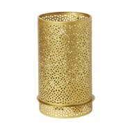 Svícen KOV 200x120mm BLISS GOLD