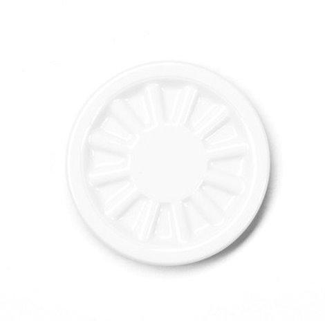TÁCEK PIVNÍ porcelánový bílý