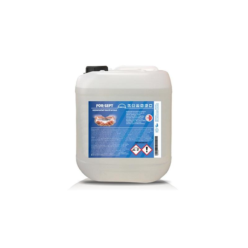 Dezinfekční tekuté mýdlo For-Sept, 5 l