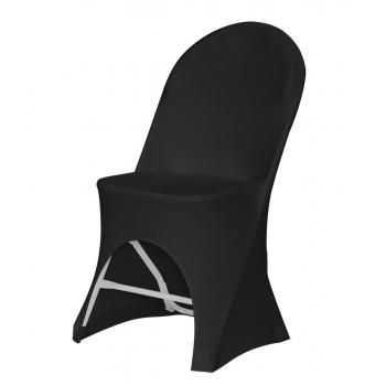Stretch potah na židli ALEXANDRA, Barva potahu: Černá