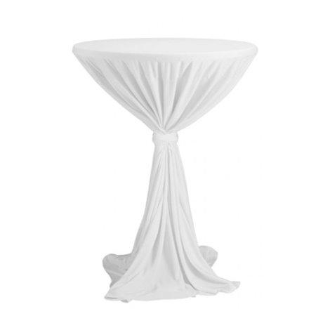 Sidney - ubrus na koktejlový stůl ∅ 70 cm se stuhou