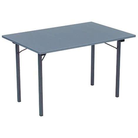 Rautový skládací stůl U-TABLE 120 x 80 cm, antracit