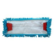 Plochý mop (jazyky) 40 cm modré mikrovlákno
