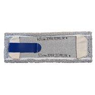 Klaro mop systém (jazyk + kapsy) - plochý mop 40 i 50 cm mikrovlákno melír, bezdotykové vytírání