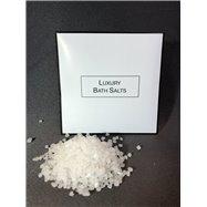 Luxusní koupelová sůl WHITE & BLACK