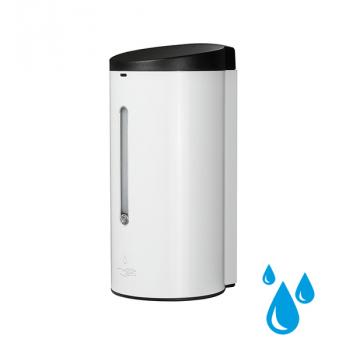 Automatický dávkovač desinfekce nebo tekutého mýdla Donner ROUND (Gel) Bílý Kov