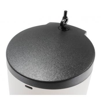 Automatický dávkovač desinfekce nebo tekutého mýdla Donner ROUND (Gel) Matný nerez Kov