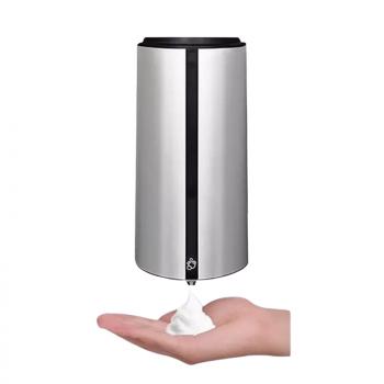 Automatický dávkovač pěnového mýdla Donner DROP (Foam) Stříbrný ABS plast