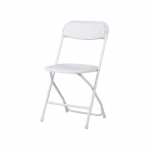 Plastová skládací židle Alex chair. Rozměry: 45 x 43 x 80,3 cm.