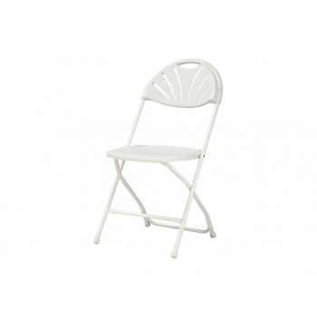 Plastová skládací židle Alexandra chair - bílá