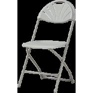 Plastová skládací židle Alexandra chair - šedá