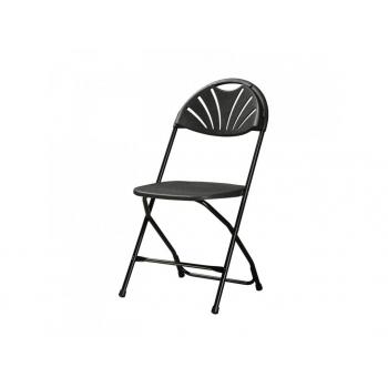 Plastová skládací židle Alexandra chair - černá