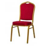 Banketová židle JAZZ je pohodlná židle s ocelovým rámem.