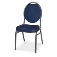Banketová židle HERMAN - námořní modř