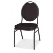 Banketová židle HERMAN - černá