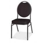 Banketová židle Herman- Židle je k dispozici ve třech barevných variantách - černá, červená a námořní modř.