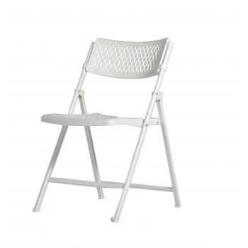 Plastová skládací židle ZOWN ARAN CHAIR - NEW - bílá