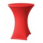 Elastický potah ONYX na stoly s deskou Ø 80-85 cm, 90% polyester + 10% elastan, výběr z několika barev.