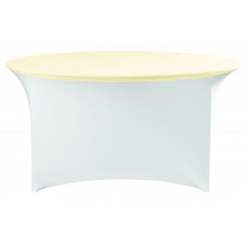 Elastický potah (čepice) na desku stolu Ø180cm