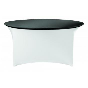 Elastický potah (čepice) na desku stolu Ø150cm