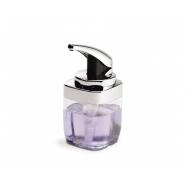 Dávkovač mýdla Simplehuman – 443 ml, hranatý, chrom