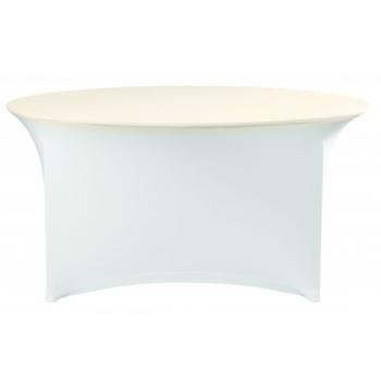 Elastický potah (čepice) na desku stolu Ø120cm