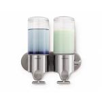 Praktický dávkovač mýdla se dvěma nádobami, na dva druhy mýdel. Je vyroben z vysoce odolných materiálů, máte díky tomu maximální jistotu, že vám vydrží skutečně dlouho.