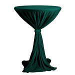 Ubrus VENICE na koktejlové stoly s deskou o průměru ∅ 80 - 85 cm a výškou cca 110 cm. 100% polyester se stuhou v barvě ubrusu