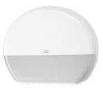 Řada Tork Elevation je série hladkého a funkčního vzhledu v moderním duchu, který pasuje do prostředí většiny toalet a umýváren. Systém T1 - Systém toal. papíru Jumbo, Materiál: Plast, Barva: Bílá, Šířka: 437 mm, Výška: 360 mm, Hloubka: 133 mm