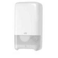 Tork Mid-size Twin zásobník na toaletní papír, bílý