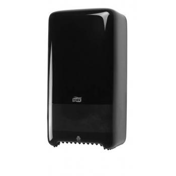 Tork Mid-size Twin zásobník na toaletní papír, černý
