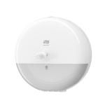 Plastový zásobník TORK SmartOne na toaletní papír se středovým odvíjením a systémem dávkování po jednotlivých útržcích. Snižuje Vaši spotřebu papíru až o 40%.
