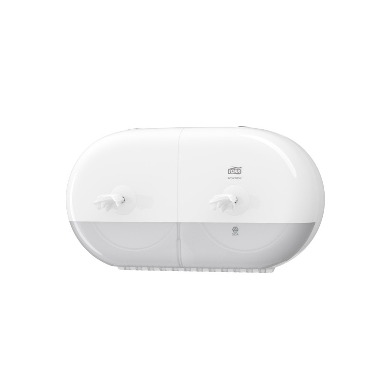 Tork SmartOne Twin Mini zásobník na toaletní papír se středovým odvíjením - bílá