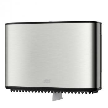 Tork zásobník na toaletní papír Mini Jumbo - nerez/černá