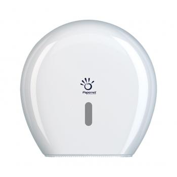 Zásobník toaletního papíru Jumbo HYTECH, mini, bílý