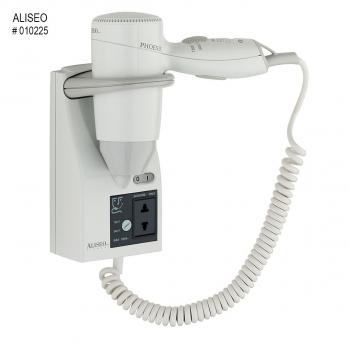 Hotelový pistolový fén ALISEO PHOENIX R-K 1200W, bílý