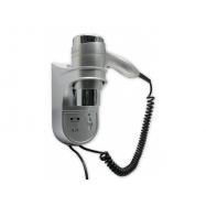 Hotelový pistolový fén SHAVER 1400W, stříbrný