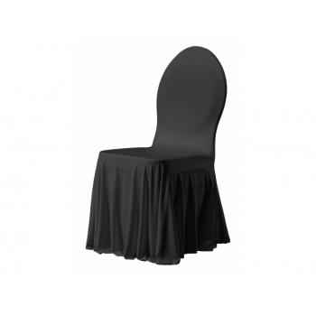 SIESTA - potah na židli, Černá