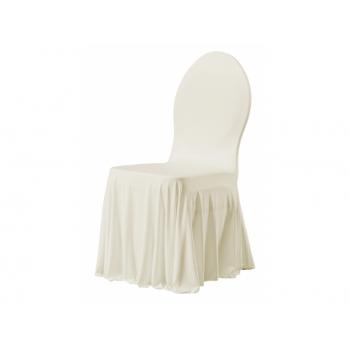 SIESTA - potah na židli, Krémová