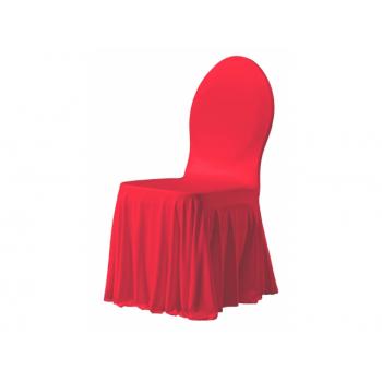 SIESTA - potah na židli, Červená