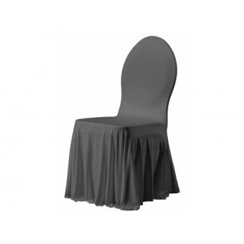 SIESTA - potah na židli, Antracit