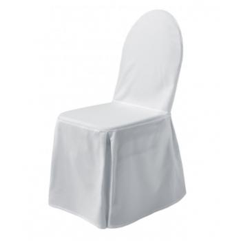 EXCELLENT - potah na židli, Bílá