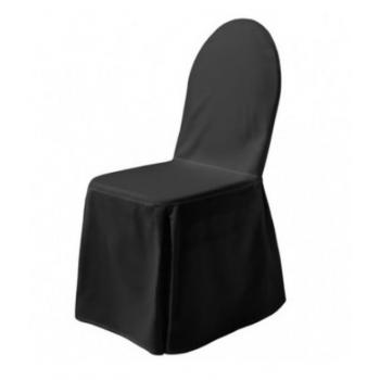EXCELLENT - potah na židli, Černá