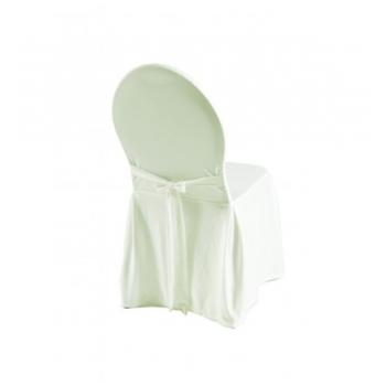 EXCELLENT - potah na židli, Krémová