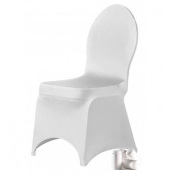 BRILLIANT- potah na židli, Bílá