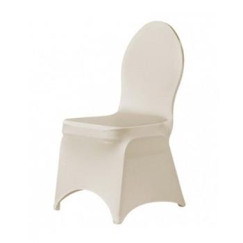 BRILLIANT- potah na židli, Krémová